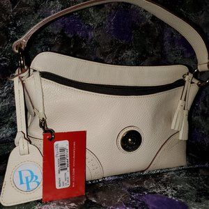 Dooney and Bourke Small Slouch Bag (ivory)